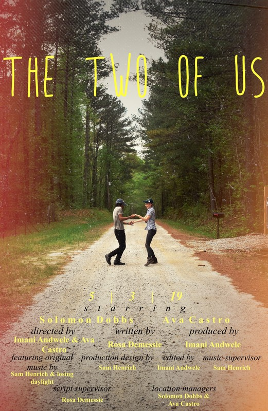 The Two of Us directed by Imani Andwele and Ava Castro (Georgia) - Videopalooza High School Student Film