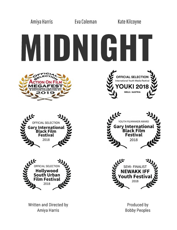 Midnight directed by Amiya Harris (Videopalooza - Middle School Student Films)