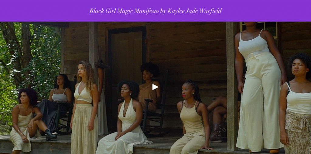 Black Girl Magic directed by Kaylee Warfield (Short Film - Experimental)