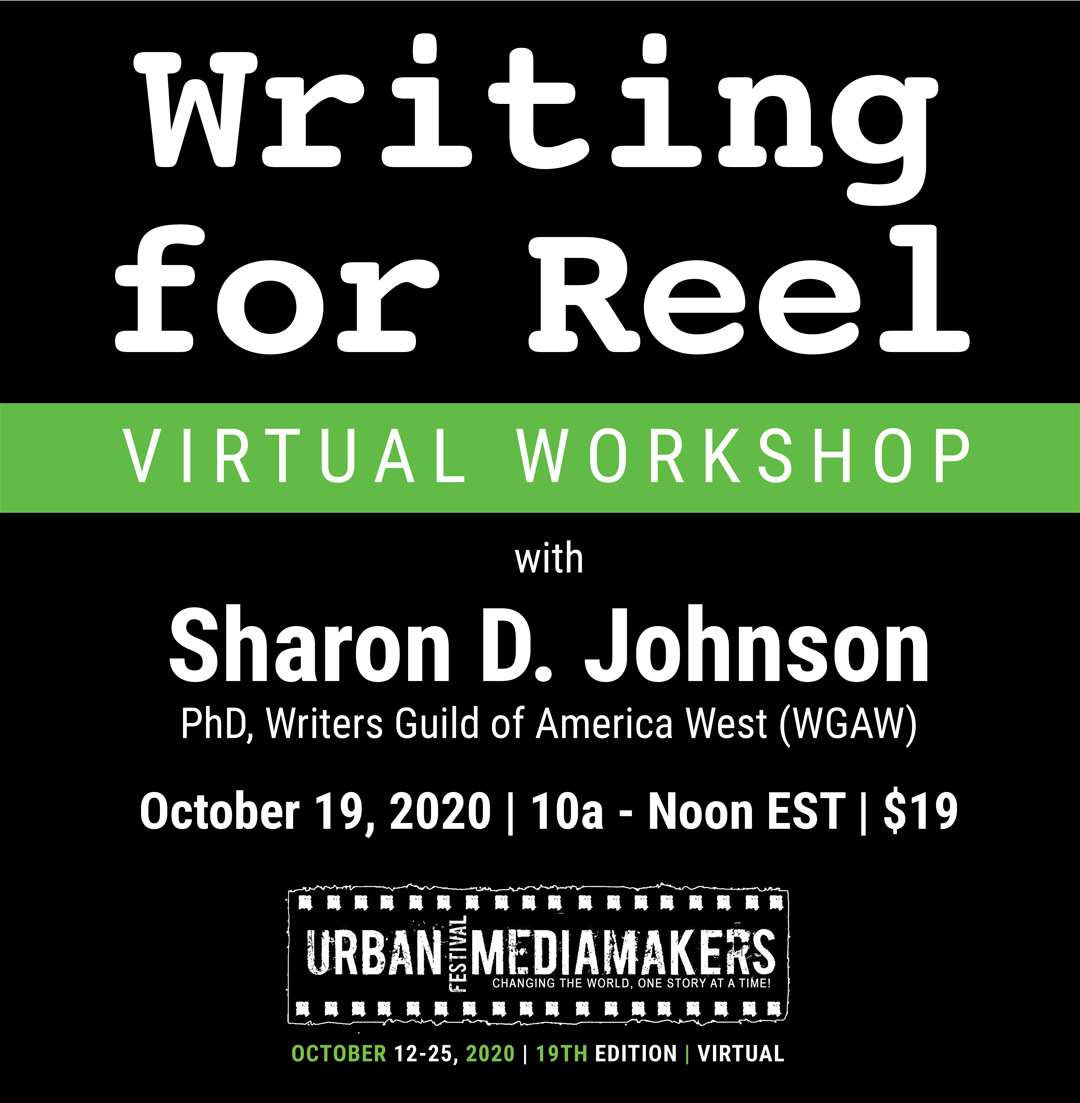 Writing for Reel with Sharon D. Johnson